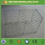 80X100mmの高品質の工場からの六角形の網のGabionのバスケット