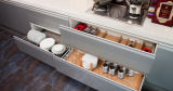 普及した新製品現代MDFのラッカー食器棚デザイン(zz-060)