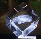 Дешевый гравировальный станок лазера для стекла и кристалла
