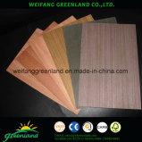 Artificial chapeado de madera contrachapada (CE, SGS, grado ISO, 1220X2440mm)