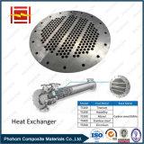 爆発の熱交換器のための溶接の覆われた金属の管シート