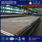 Plaque en acier à haute résistance en acier laminé à chaud / Ms / alliage Plaque en acier A36 A283 Ss400