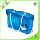Borse trasparenti del sacchetto della spiaggia del PVC di colore