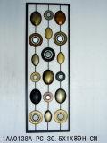 Décoration de mur de métal