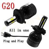 자동차를 위한 고성능 LED 기관자전차 헤드라이트 12V 24V 차 LED 헤드라이트 60W 6000lm H4 H7 LED 자동 헤드라이트 전구