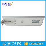 Bateria de Lítio de melhor preço 80W lâmpada LED Solar Luz de Rua