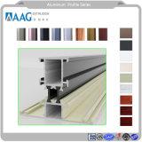Perfil de aluminio de la arquitectura para uso industrial o de la pared de cortina
