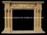 China lareira de mármore natural a Mantel (SY-MF032)