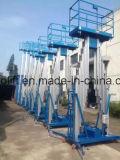 duw van de Lift van de Mast van 12m de Lucht Mobiele rond het Aluminium van de Lift Personl Één Lift van de Persoon