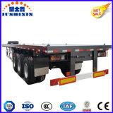 3 des essieux 40t-100t de cargaison de camion remorque à plat semi