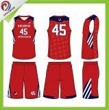 適当なカスタム昇華バスケットボールの均一卸し売りブランクバスケットボールのジャージを乾燥しなさい