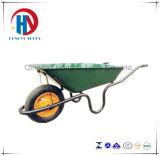 Zinco chapeado/carrinho de mão de roda qualidade superior Wb3808 da pintura