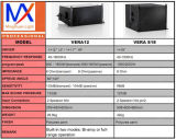 Línea altavoces del sistema de sonido del equipo de Vera12 DJ del arsenal