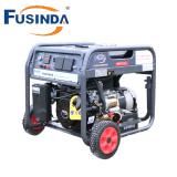 Générateur de cuivre d'alternateur d'enroulement de Dengan 100% de générateur de Mesin Bensin de début de Kunci 2kVA