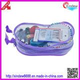 Комплект домочадца с цветастой резьбой и инструменты