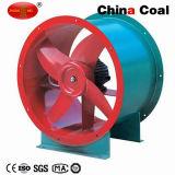 Китай без постоянного портативный горнодобывающей промышленности Axial Flow нагнетательного вентилятора