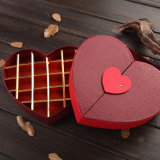 Custom Paper Fancy Chocolate Boxes Atacado Heart Shape with Lock