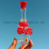 Beautiful Bow Piece DAB Rig Recycler Oil Rig Waterpipe Hookah Glass Smoking Pipes