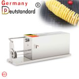 Cadena automático eléctrico comercial cortadora Cortadora de papas