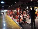 Machine van de Gymnastiek van de Pers van de Borst van de hamer de Sterkte plaat-Geladen ISO-Zij