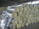 Matériau d'isolation de couverture de laines de verre
