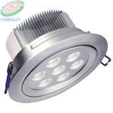 LED Downlighter 의 LED 천장 램프, 아래로 LED 빛 (FCL-D9578-7W-H)