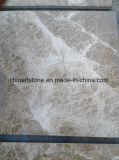 Lastra di marmo chiara della Cina Emperador per il controsoffitto e le mattonelle