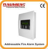 Sistema de controle de alarme de incêndio do estado da arte, 1 loop (6001-01)