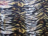 Tiger Imprimir (HZS veludo--00125)