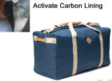 Sac de molleton de course de sport d'épreuve d'odeur d'odeur avec la garniture de carbone