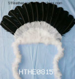 Artesanal Orstrich / Turkry Feather Indian Tocado