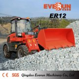 Chargeur de roue de matériel de déblaiement de neige d'Everun de 1.2 tonne petit