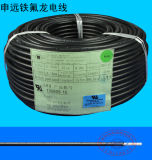El caucho de silicón UL3530 cubrió el cable y el alambre