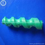 Acessórios de engenharia Custom Nylonspiral PA66 Nylon Plastic Screw