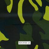 Films d'impression de Digitals Camo Hydrographics, films d'impression de transfert de l'eau, films liquides d'image et films de PVA pour les postes et les canons et la motocyclette extérieurs (BDS3938-1A)