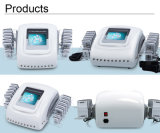 Macchina grassa di bellezza di Liposuction del laser di rimozione di Eqiupment del diodo 650nm di bellezza portatile di Lipolaser