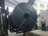 Correia de borracha de máquinas industriais, preço do tapete de borracha para o transporte de materiais com Inclinação Íngreme