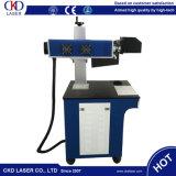 Máquina de grabado de madera plástica del CO2 de la marca de escritorio del laser