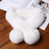 Popuar Mesdames hiver chaud Foulards artificiels les garnitures de fourrure de la fausse fourrure Foulard