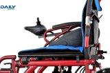 24V 200W*2モーターを搭載する電力の車椅子を折るポータブル
