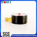 Medidores de pressão de GNC de 50 mm / 1,5 polegadas com ponteiro de ajuste vermelho para uso especial