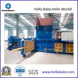 Автоматическая горизонтальная бумажных отходов, картон пресс-подборщик на перерабатывающем заводе