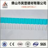 la fábrica de 1.8m m China dirige 840 930 1050 policarbonatos acanalados cubriendo la hoja para el invernadero y la vertiente de la cría
