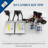 X5 H1 H3 H7 H11 Kit d'HID Canbus Slim 55W
