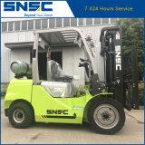 Caminhão de Forklift do LPG do gás de Snsc 3.5t com motor de Japão