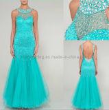 2013 nuovi vestiti anche in rilievo pesanti Backless sexy di lusso da Dress&Evening Gowns&Prom (AA-1)