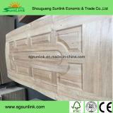 peau de porte de 3mm avec le placage en bois de hêtre