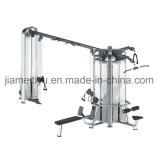 Equipos de gimnasia comercial en el gimnasio Jungle - Pila de 4