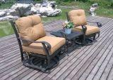 Garten-Freizeit-Gussaluminium-Schwenker-u. Gleiten-Schwätzchen-Gruppen-gesetzte Möbel