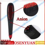 El mejor cepillo de la enderezadora del pelo del precio bajo de la venta con la visualización del LCD